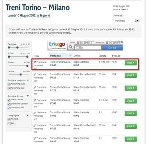 Treni Torino - Milano, Trenitalia Lunedì 10 Giugno 2013 - viRail -